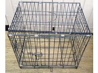 FOLDING DOG / PET CAGE (Black) – L. 24 inch, W. 18 inches, H. 20 inches