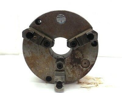 Pratt Burnerd Lathe Chuck 9210-02515 3 Jaws 10 Diameter 3 Thru-hole Dia.