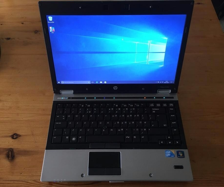 hp laptop elitebook 8440p windows 10 office 2007 like new in norwich norfolk gumtree. Black Bedroom Furniture Sets. Home Design Ideas