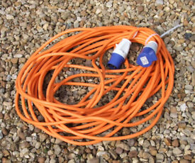 25 metre mains hook up lead (as new) £25 (collection or you arrange courier only) PE20