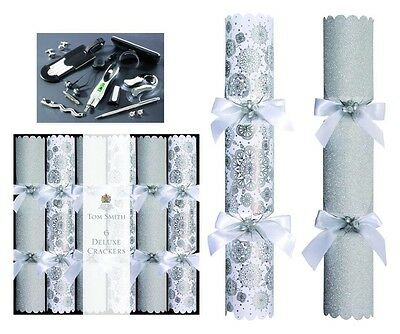 Tom Smith Deluxe Range Christmas Crackers 6 X 14 4 Designs To Choose From Ebay