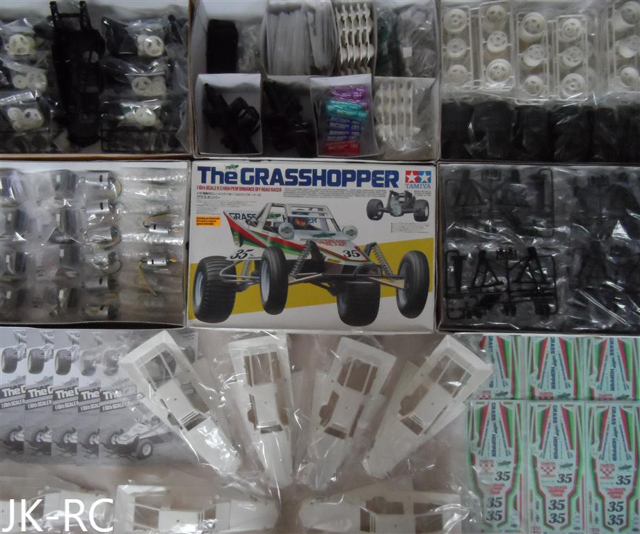 Car Parts - Choice Of New Spare Parts For 'Tamiya Grasshopper 58346' R/C Car