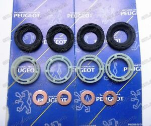 injector seals kit for peugeot 206 207 307 407 508 1 6 hdi 198185 198299 1982a0 ebay. Black Bedroom Furniture Sets. Home Design Ideas