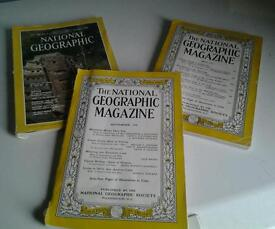 National Geographic Magazines 50p Each