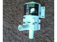 Caravan water pump