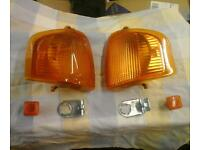 Ford escort mk4 front indicator lenses and square repeaters