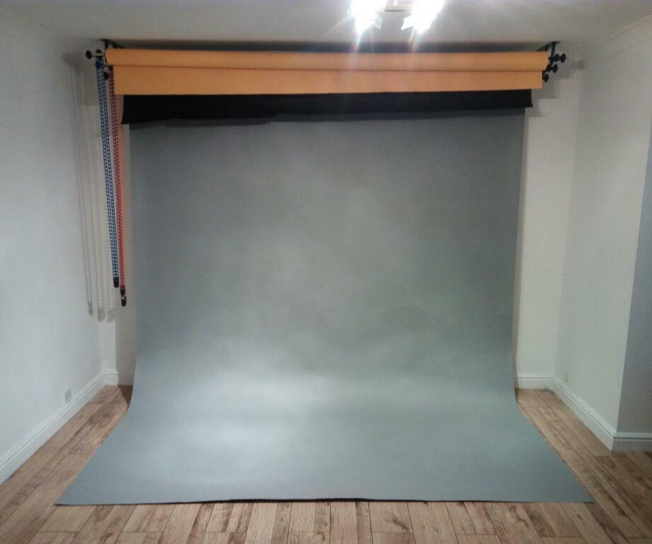 Photography Studio Backdrop System Wall Or Ceiling