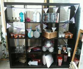 Black box shelf unit, Lavander Lane