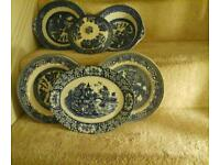 Willow tree pattern plates