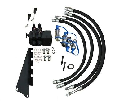 Dual Hydraulic Remote Valve Massey Ferguson Mf 40 40b 40e 50c 50d 50e