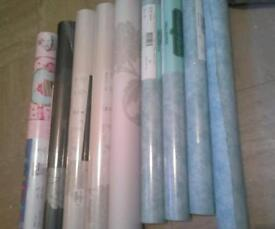 Various wallpaper 3pound per roll or offers the lot