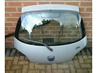 Ford ka silver rear tailgate
