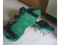 Garden airator shoes