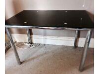 Glass Table / Computer Desk