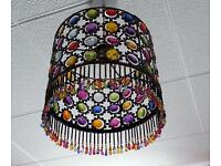 Moroccan style light shade
