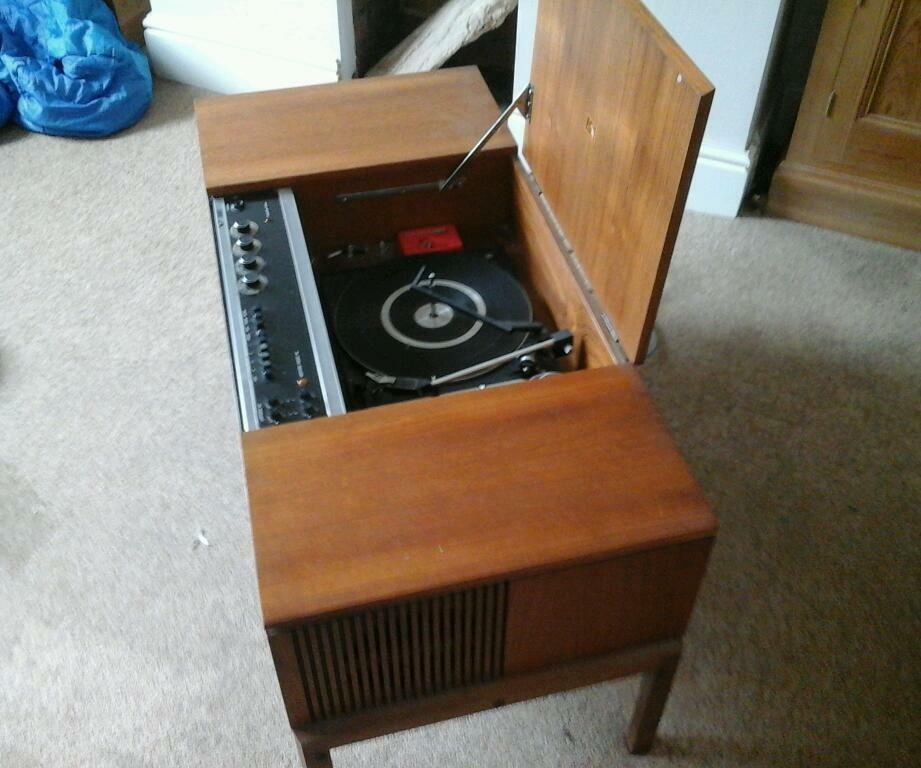 1950s/60s HMV Radiogram/Record player   in Dinas Powys, Vale of Glamorgan   Gumtree
