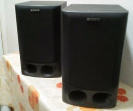 Pair-Sony-SS-H10-stereo-loudspeakers-80W