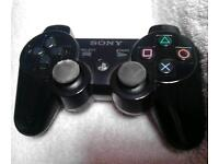 Playstation 3.ps3 wireless controller piano black fully working