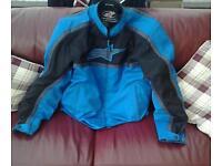 alpinestars textile motorbike jacket