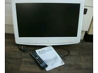 "WHITE 26"" FLAT SCREEN TV"