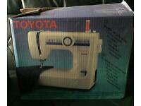 Toyota sewing machine. Hardly used.