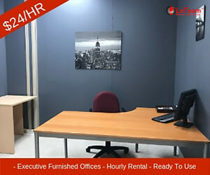 CALGARY:  DAY OFFICES-HOURLY EXECUTIVE OFFICE RENTALS-$24/HR