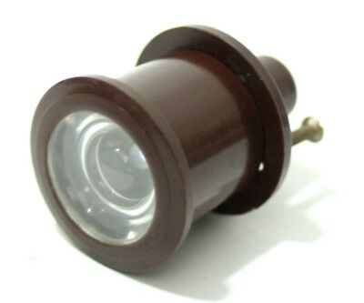 Vintage Bakelite Door Lens - FREE Shipping [PL4655]