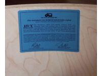 "DW / Drum Workshop Maple 18""x16"" Floor Tom Shell W/Set of DW True Hoops"