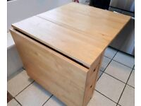 Ikea folding table