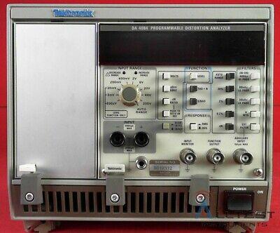 Tektronix Aa5001 Da4084 Tm5003 Programmable Distortion Analyzer System