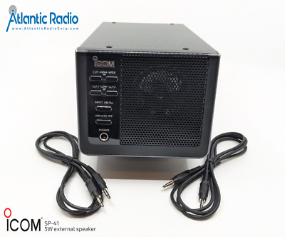 Icom SP-41 5W external speaker for HF radios SP41