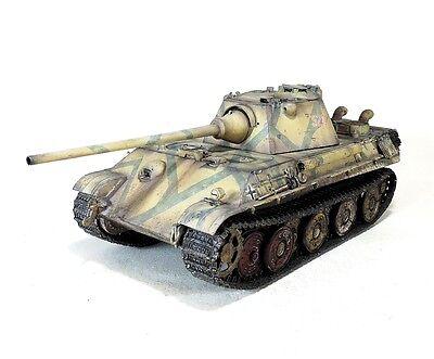 PRO-BUILT 1/35 Panther F German tank