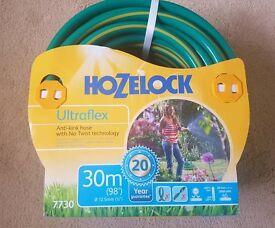 Hozelock 30m Ultraflex Hose Pipe Flexible Garden Hose