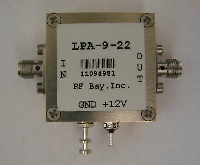 50mhz-9ghz Wideband Rf Amplifier Lpa-9-22 New Sma