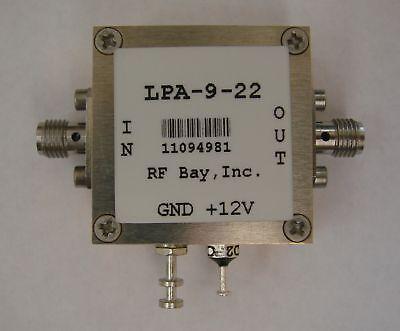 50mhz-9ghz Wideband Rf Amplifier Lpa-9-22 New Sma