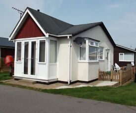 2 Bedroom Detached Chalet Holiday home for sale South Shore Holiday Village near Bridlington (1309)