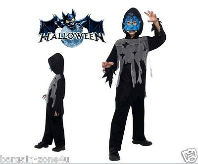 Smiffy's Blue Vampire Instant Kit Kids Halloween Party Fancy Dress Custome Birth - Kids Halloween Customes
