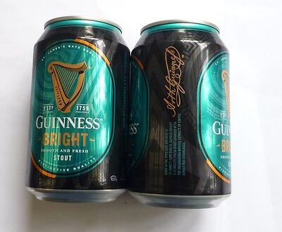EMPTY - GUINNESS STOUT BEER Edition BRIGHT can MALAYSIA 330ml Collect 2017