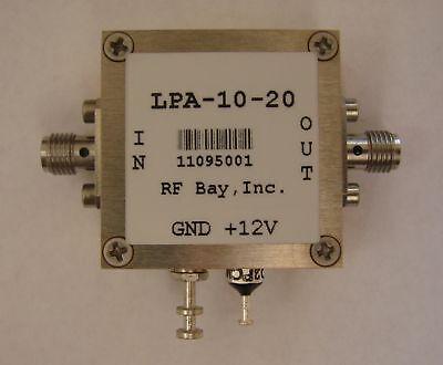 100khz-10ghz Wideband Rf Amplifier Lpa-10-20 New Sma