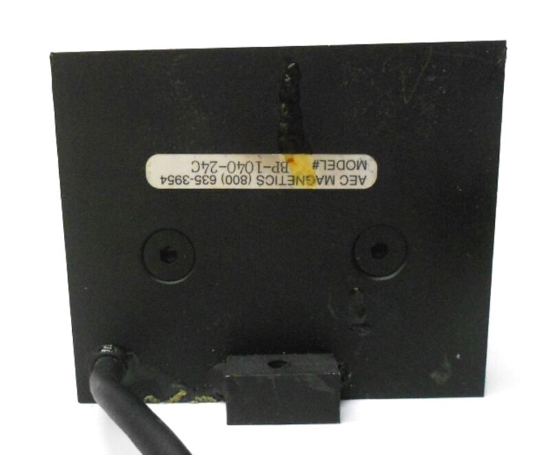AEC MAGNETICS PARALLEL POLE ELECTRO MAGNET BP-1040-24C