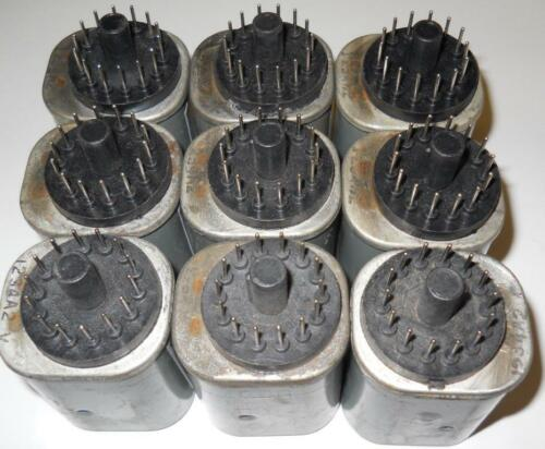 General Electric (GE) IC3600KMRB6 Relay, 125VDC coil, 7000 ohm