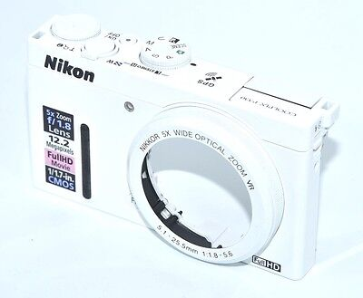 NIKON P330 Top Cover and Front Cover White Repair Part