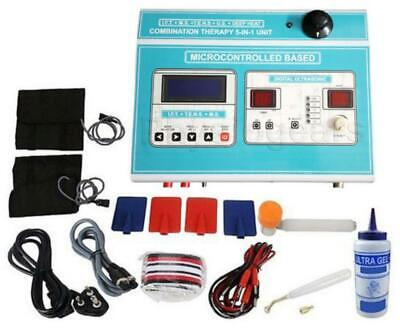 Physiogears 5 In 1 Combination Therapy Unit Physiotherapy Machine
