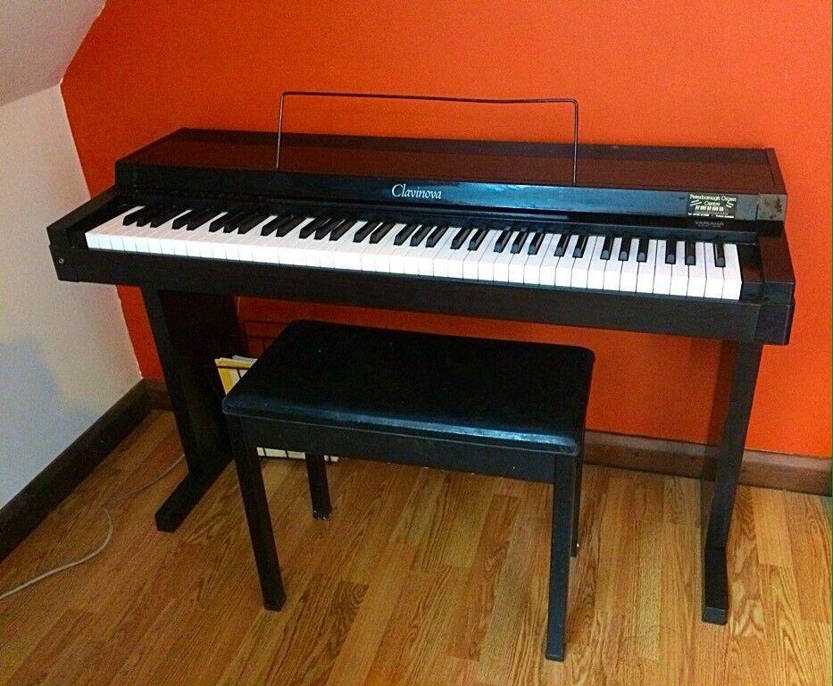 Early Vintage Yamaha Clavinova Clp 20 1985 Digital Piano