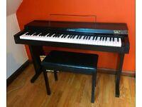 Early vintage Yamaha Clavinova CLP-20 1985 digital piano inc Yamaha sound generator