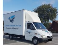 Professional Man and Luton Van Hire House Removals single items 2 ,3 seater sofa double bed ect