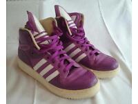 Adidas hi-top Trainers size uk7