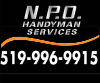 Handyman services and small renovations