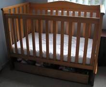Boori Country Collection Cot with Storage Draw Underneath Earlwood Canterbury Area Preview