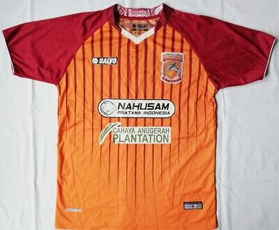 Football soccer jersey FC PUSAMANIA BORNEO INDONESIA season: 2016 image
